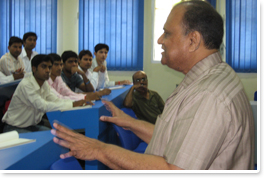 Guest Lectures by eminent personalities in the field of education & business